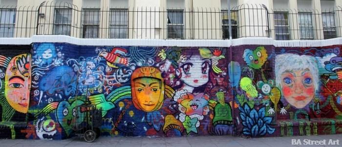 buenosairesstreetart.com graffiti parque rivadavia buenos aires street art stencils la wife