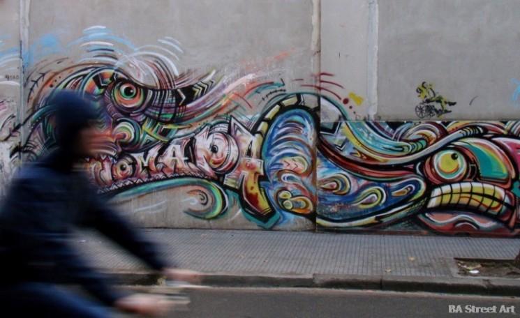 graffiti nomada buenos aires graffiti tour © buenosairesstreetart.com BA Street Art Tours