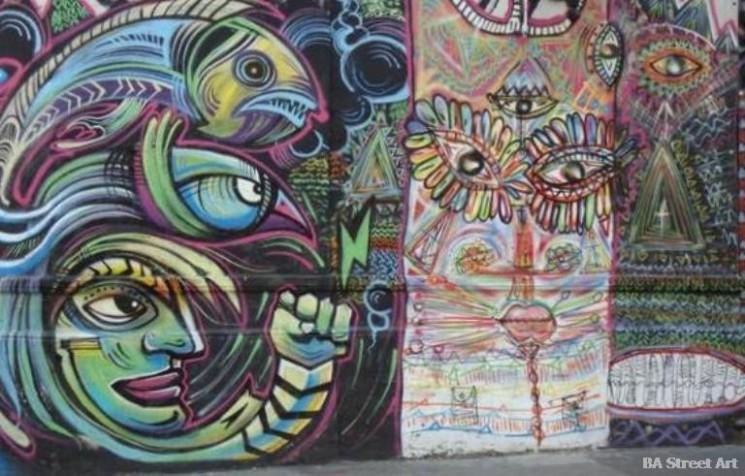nomada malegria buenos aires street art san telmo BA Street Art Tours buenosairesstreetart.com