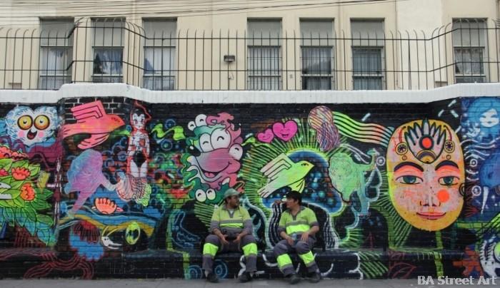 parque rivadavia caballito buenos aires street art buenosairesstreetart.com