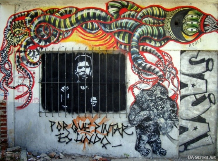 rodez graffiti tour buenos aires street art © buenosairesstreetart.com