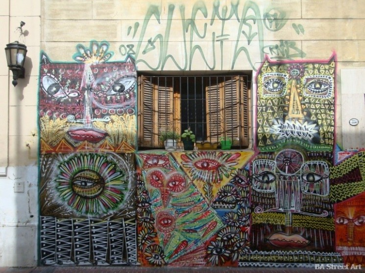 buenos aires graffiti tour street art argentina malegria san telmo buenosairesstreetart.com