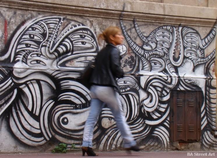 san telmo street art rodez buenos aires graffiti tour BA Street Art photos © buenosairesstreetart.com