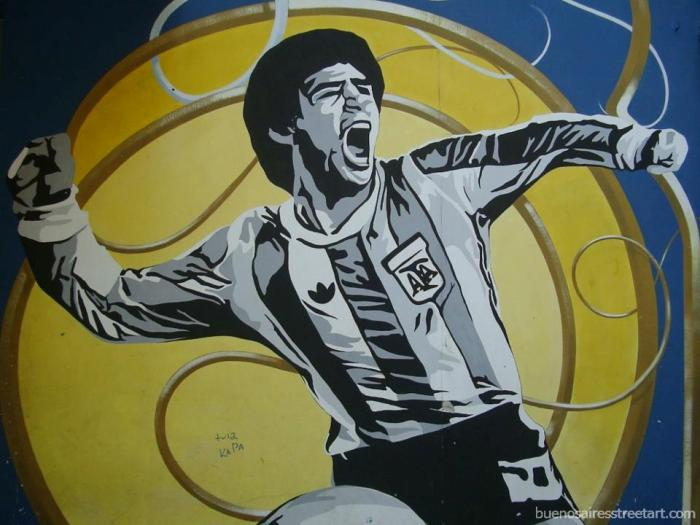 maradona graffiti tour buenos aires murales buenosairesstreetart.com