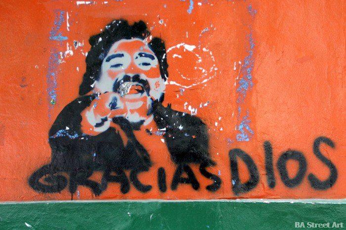 mendoza street art argentina maradona graffiti buenosairesstreetart.com