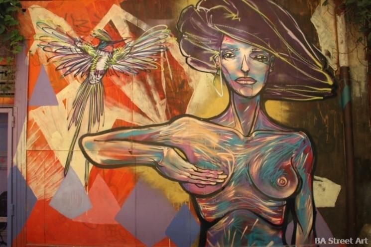 Murales Charquipunk la Robot de Madera Valparaíso Chile street art