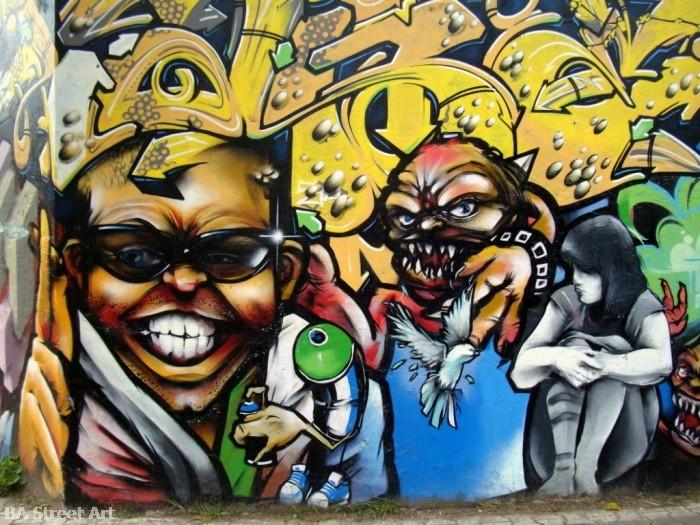 graffiti buenos aires caracteres letras dame graff damian morales merlo
