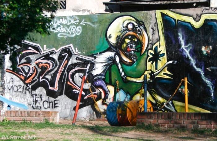 buenos aires graffiti tour urban art © buenosairesstreetart.com BA Street Art