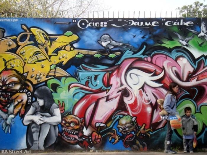 buenos aires graffiti tour dame argentina and street art © buenosairesstreetart.com