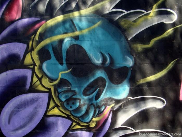 death graffiti buenos aires halloween buenosairesstreetart.com