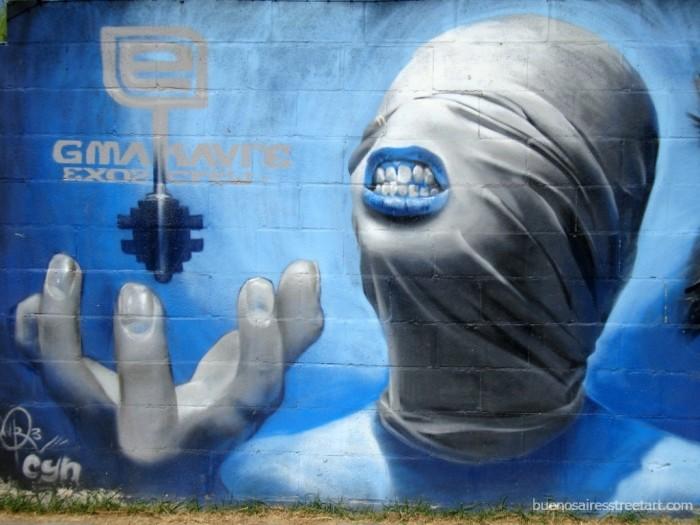 graffiti buenos aires halloween makavre buenosairesstreetart.com