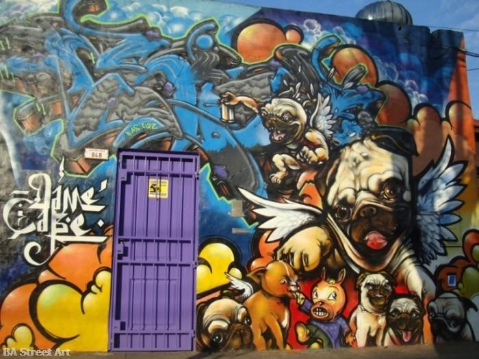 dame graffiti buenos aires street art © buenosairesstreetart.com