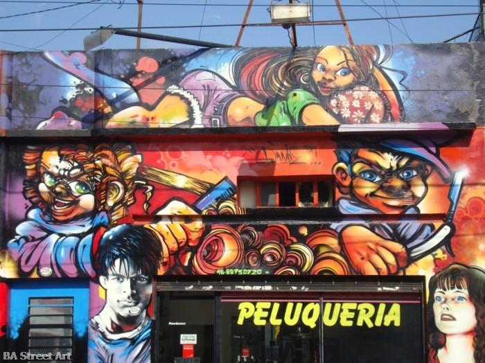 Dame Damian Morales artista buenos aires graffiti tour © BA Street Art buenosairesstreetart.com