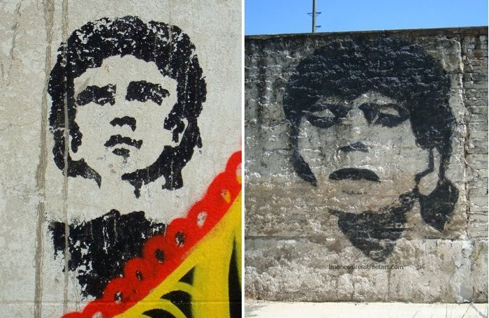 maradona mural la boca buenos aires street art tour buenosairesstreetart.com