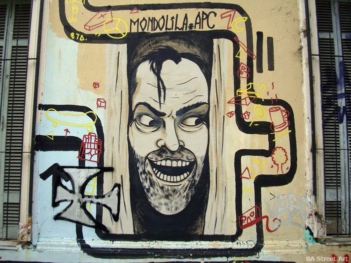the shining graffiti mondo lila buenos aires street art murales buenosairesstreeetart.com