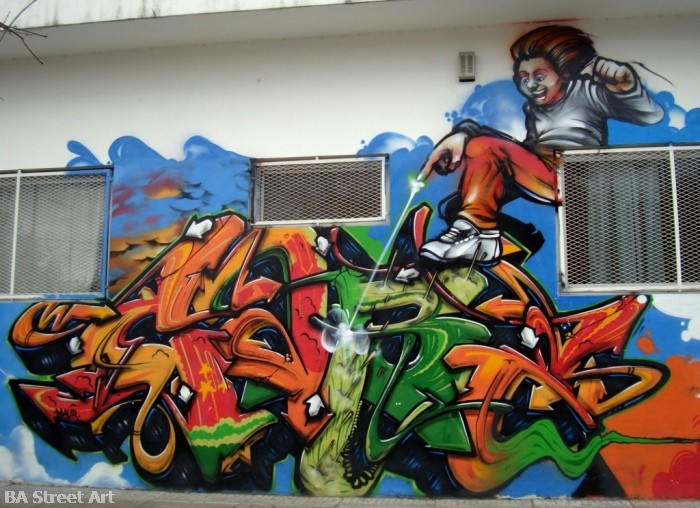 urban art buenos aires graffiti dame damian morales argentina © buenosairesstreetart.com