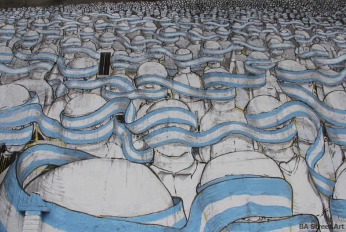 blu mural flag buenos aires street art tour argentina graffiti italia buenosairesstreetart.com