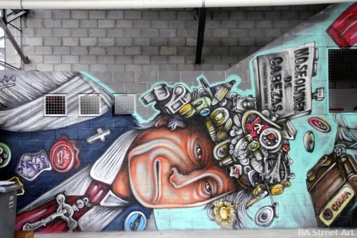 graffiti tour buenos aires alfredo segatori colegiales pelado tony valiente buenos aires street art buenosairesstreetart.com