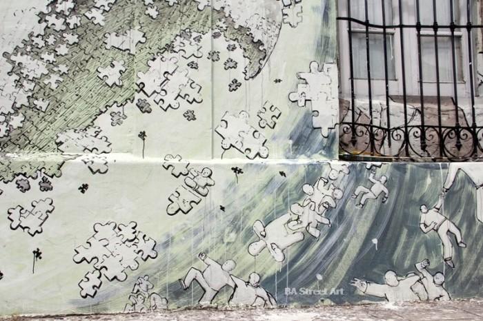blu argentina buenos aires graffiti tour buenosairesstreetart.com © BA Street Art