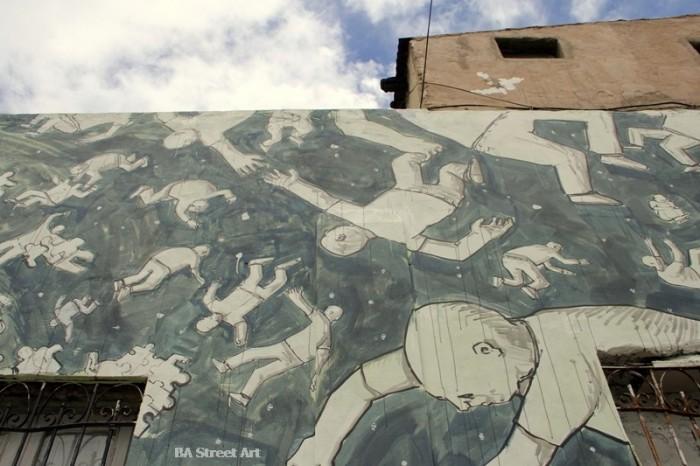blu buenos aires murals graffiti © BA Street Art argentina buenosairesstreetart.com