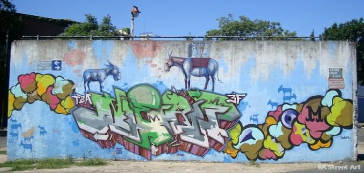 Mhak (Japón) y Nerf and Jaz street artists interview buenos aires graffiti tour buenosairesstreetart.com