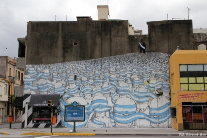 blu graffiti tour argentina photo © BA Street Art buenosairesstreetart.com