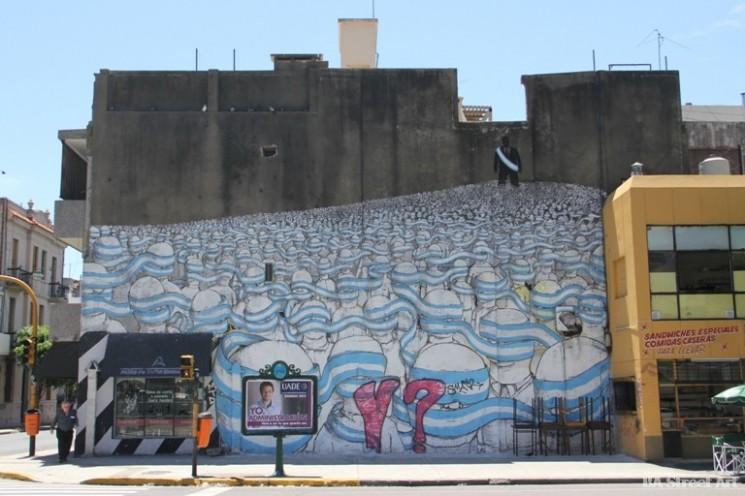 blu mural buenos aires graffiti tour BA street art argentina © BA Street Art buenosairesstreetart.com