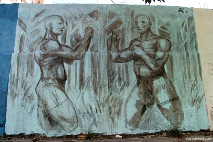 graffiti artist franco fasoli villa crespo buenos aires jaz murals buenosairesstreetart.com BA Street Art