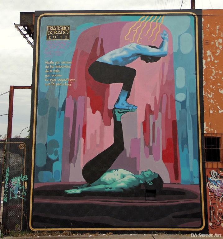 murales buenos aires triangulo dorado graffiti tour vicente lopez buenosairesstreetart.com
