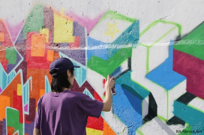 nerf artista callejero entrevista graffiti buenos aires BA Street Art Tours buenosairesstreetart.com