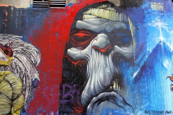 Emy Mariani graffiti murales buenos aires graffiti tour buenosairesstreetart.com