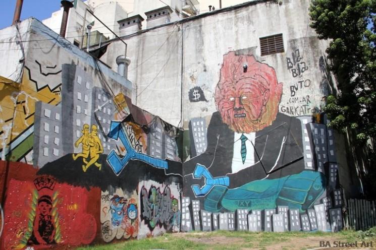 Bla Bla Buto street art buenos aires