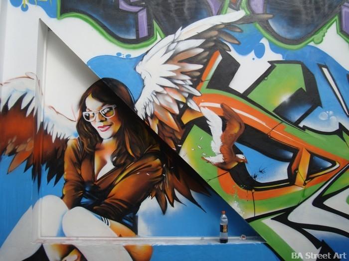 centro cultural recoleta ciudad emergente buenos aires arte callejero street art dame © buenosairesstreetart.com