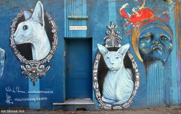 Pelos de Plumas ice buenos aires street art buenosairesstreetart.com BA Street Art Tours (1)