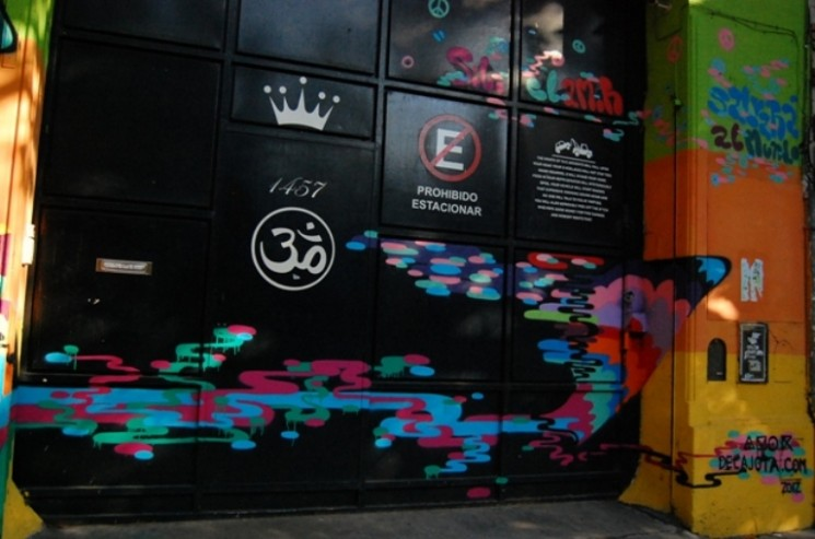 Amor street artist buenos aires graffiti tour buenosairesstreetart.com