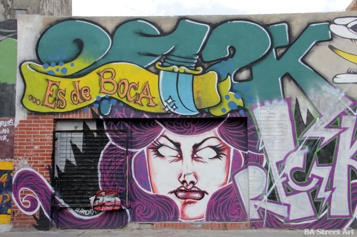 buenos aires street art tour la boca buenosairesstreetart.com BA Street Art mural