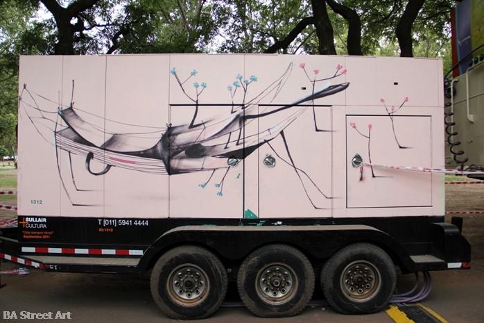 mart aire murales buenos aires street art  buenosairesstreetart.com BA Street Art Tours