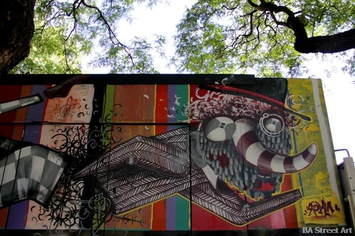 roma street artist buenos aires graffiti buenosairesstreetart.com BA Street Art Tours
