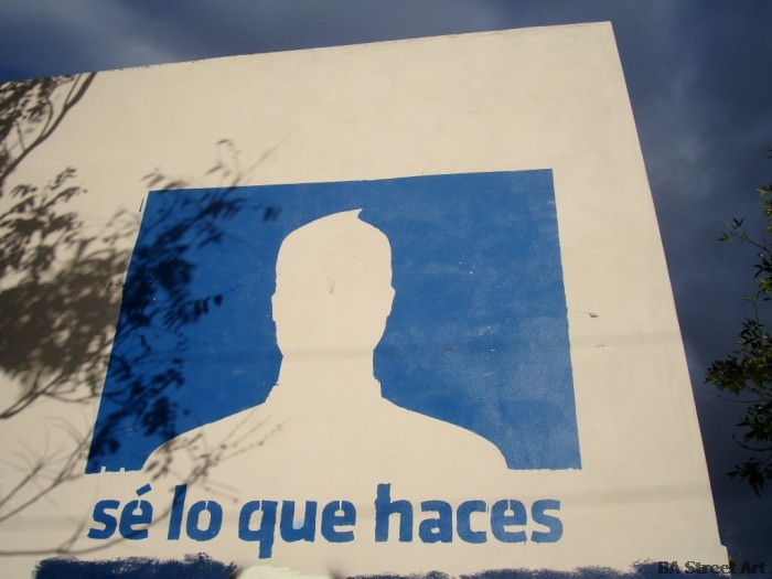 anti facebook i know what you are doing sé lo que haces buenos aires street art graffiti mural buenosairesstreetart.com