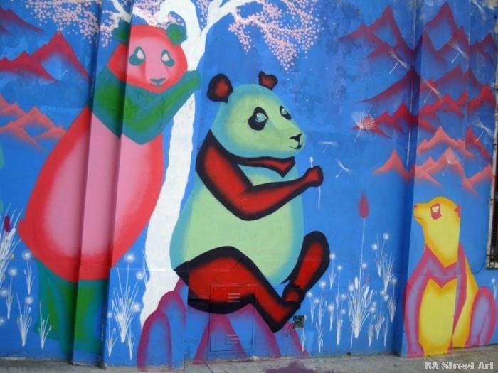 martina zumi pandas street artist buenos aires buenosairesstreetart.com murals