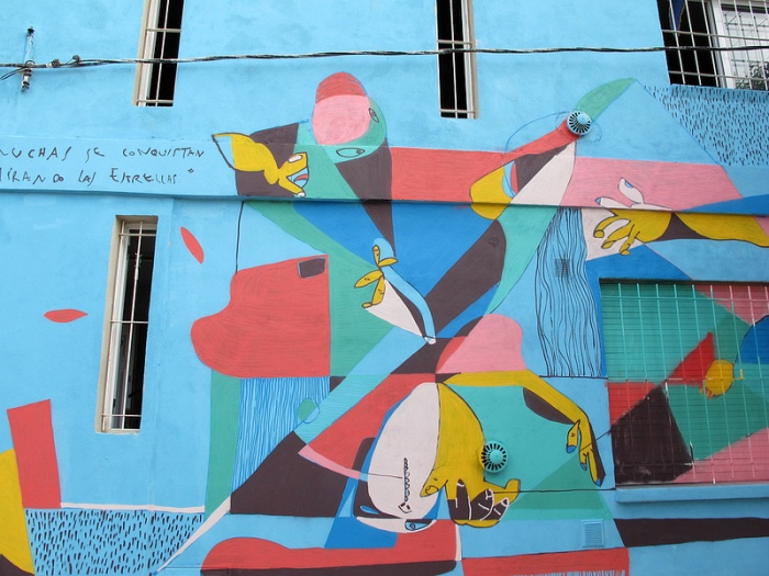 pelos de  mural carlos fuentealba cordoba buenosairesstreetart.com
