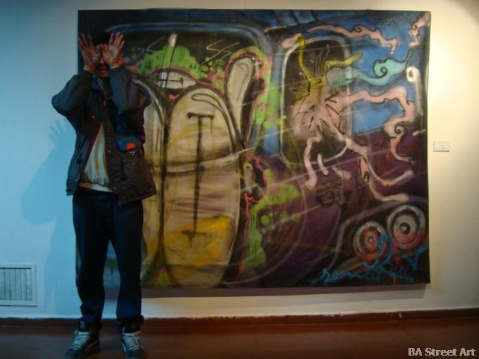 Alan Sentir Lujan street art buenosairesstreetart.com BA Street Art