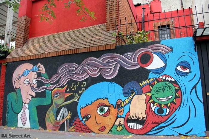 Bla Bla Buto Buscatus murales buenos aires street art buenosairesstreetart.com