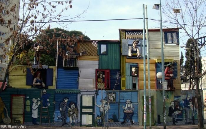 Buenos Aires street art Oscar Gasparini mural © buenosairesstreetart.com