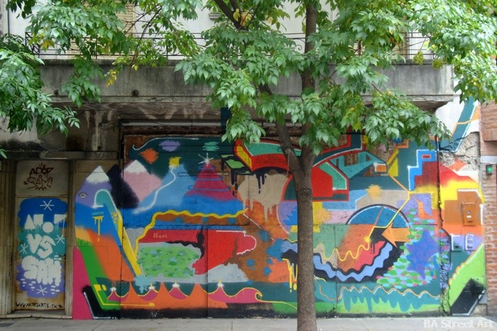 amor sam street art buenos aires murales graffiti tour buenosairesstreetart.com