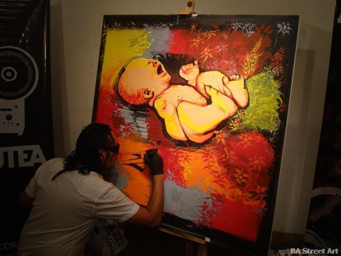 dame damian morales graffiti club matienzo buenos aires street art buenosairesstreetart.com
