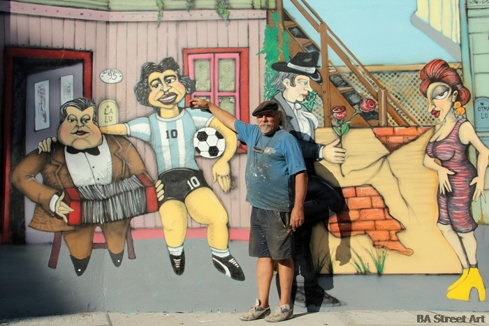 omar gasparini artista plastica murales buenos aires buenosairesstreetart.com