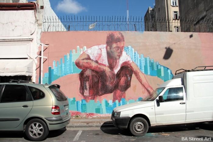 chloe tiravy entrevista interview artist pintor artista francia france murales street art buenos aires buenosairesstreetart.com