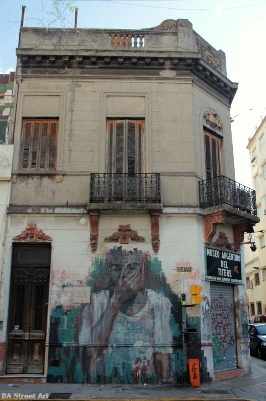 tiravy street art buenos aires buenosairesstreetart.com mural san telmo
