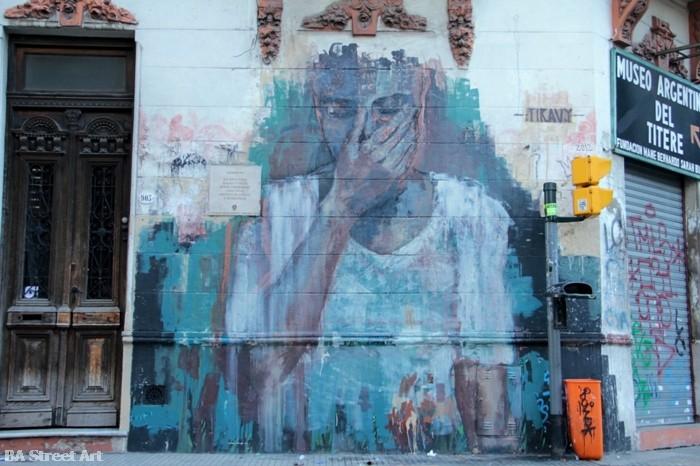 tiravy street art buenos aires buenosairesstreetart.com murales san telmo